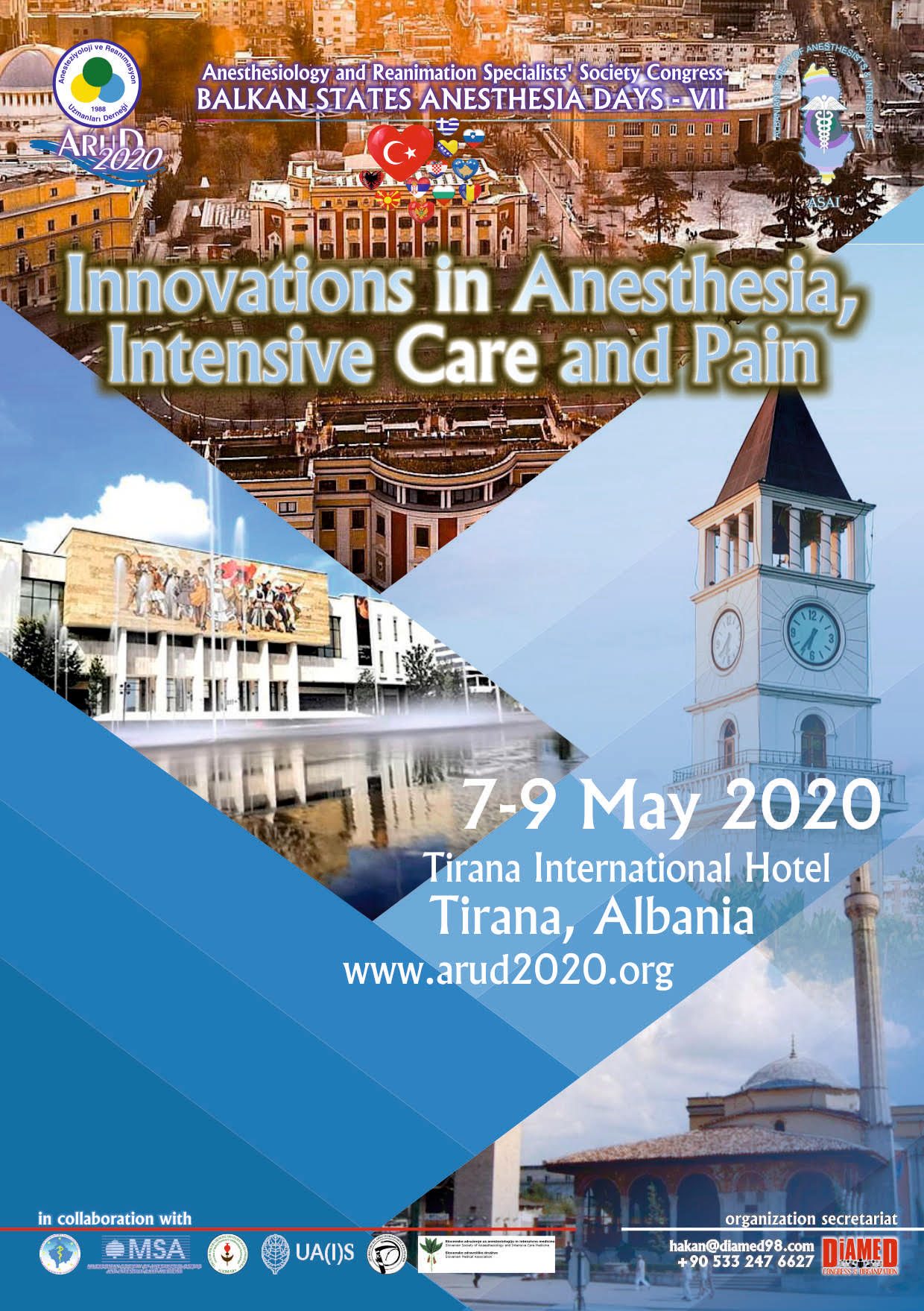 Innovations in Anesthesia, Intensive Care and Pain